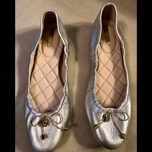 Like new Louise et Cie silver shoes. Size 9 1/2